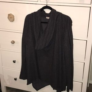 Urban outfitters pancho cowlneck sweater thumbhole